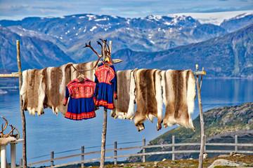 Foto auf Leinwand Skandinavien Lappland