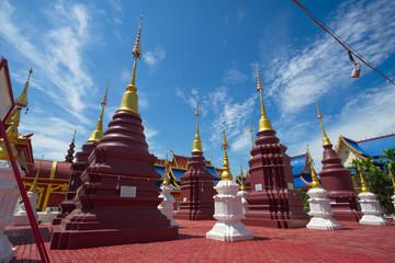 The most beautiful temple in Sukhothai Wat Pipat Mongkol temple