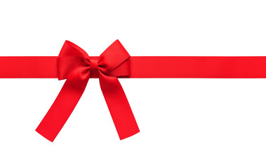 Gift bow for a gift on a white background.