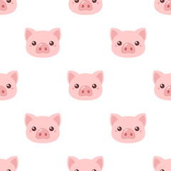 Pig head pattern