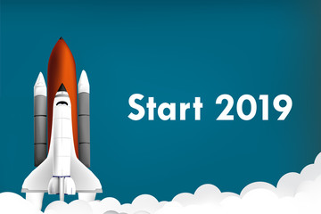 Start 2019 Rakete
