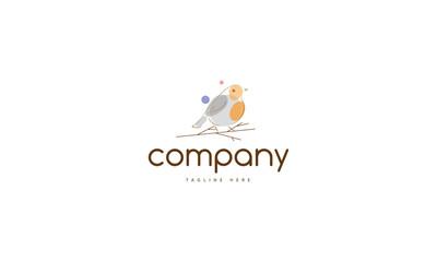Bird Robyn vector logo image