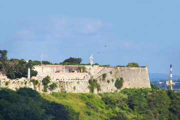 Christ of Havana, La Cabaña, Fortaleza de San Carlos de la Cabaña