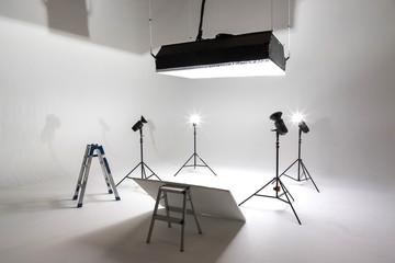 写真撮影の準備 Preparation for studio shooting