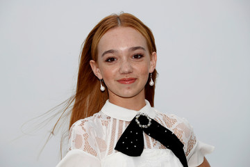 """Ruby Jay poses during a photocall for the television series """"Holly Hobbie"""" during the annual MIPCOM television programme market in Cannes"""