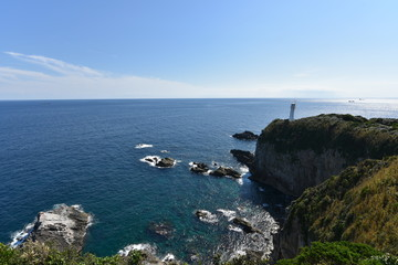 coast uwajima in summer