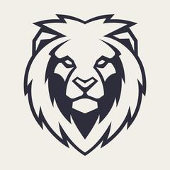 Lion Head Vector Mascot