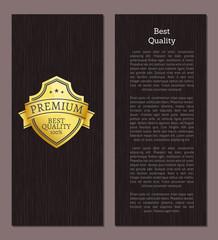 Best Quality Premium Choice Guarantee Golden Label