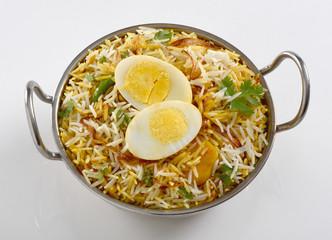 Egg Biryani or Egg Pulao