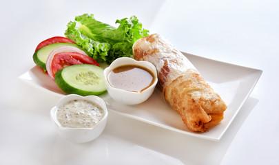 Kabab Paratha Roll