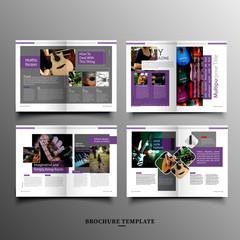 Company culture brochure template