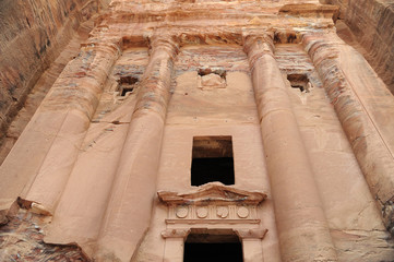 Ruins of Petra, Lost rock city of Jordan, Middle East