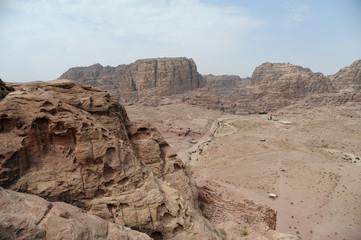 Ruins of Petra, Lost rock city of Jordan, Middle East