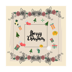 Merry Christmas Everyone, Vintage Background