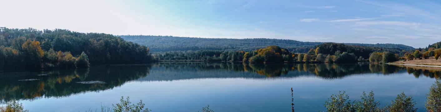 Panorama des See Ehmetsklinge