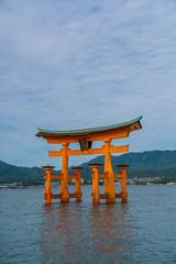 Shrine in water, Itsukushima