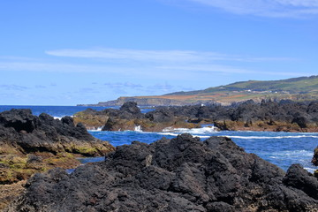 The Beautiful Isla Terceira at the Azores (Portugal)