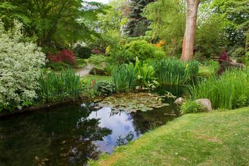 Japanese garden.  Leverkusen