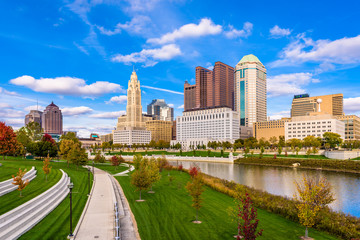 Columbus, Ohio, USA Skyline