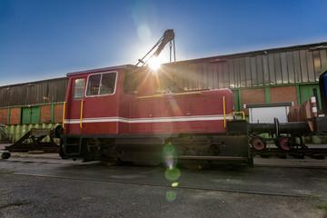 Diesellock der Hamburger Hafenbahn