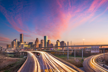 Wall Mural - Houston, Texas, USA Skyline