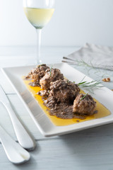 Burrida alla cagliaritana, Italian food