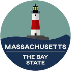 massachusetts: the bay state | digital badge