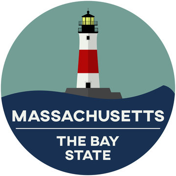 massachusetts: the bay state | digital badge