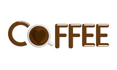delicious coffee break label