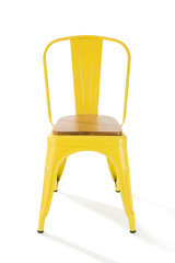 Yellow Chair Isolated
