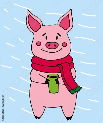 Открытки прости меня я была свиньей