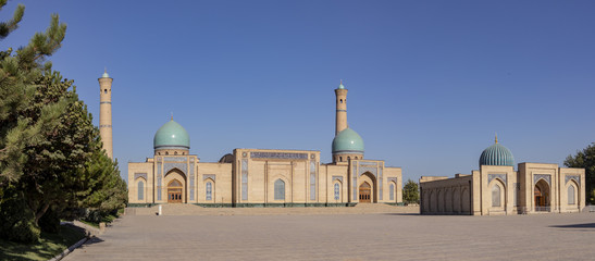 Madrasa and mosque in Old Town Tashkent, Uzbekistan