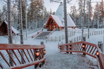 Santa Claus village in Lapland.