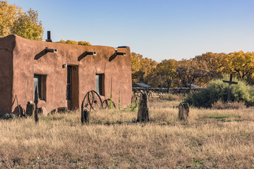Adobe House in the Countryside