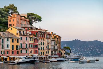 Fotobehang Liguria Portofino the fashion and glamour side