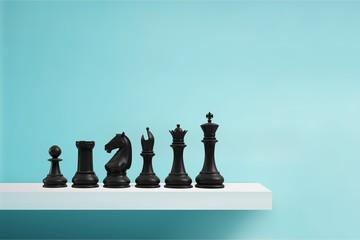 Chess. Wall mural