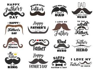 Holiday icons, Fathers day celebration