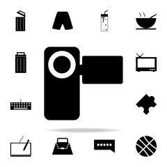 manual video camera icon. web icons universal set for web and mobile
