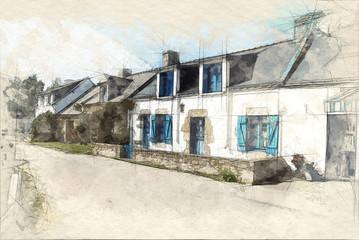 Village in Brittany