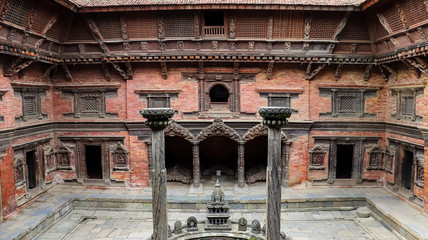 Tusha Hiti Courtyar at Patan Durbar Square