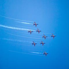 Alpha jets planes airshow