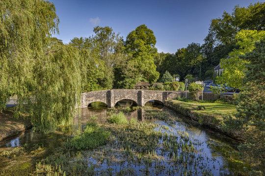 Cotswolds village of Bibury, Gloucestershire, England