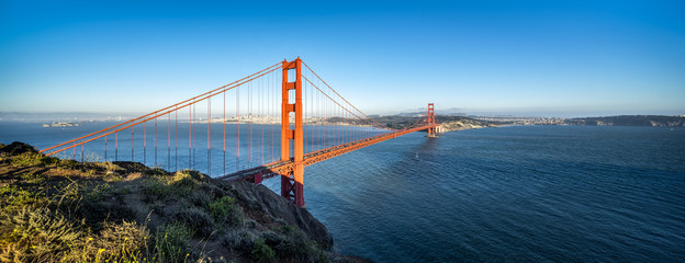 Golden Gate Bridge Panorama als Hintergrund