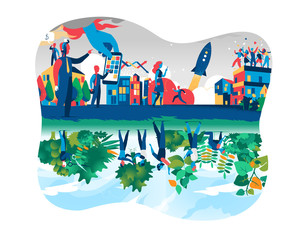 Business Society VS Green Economy