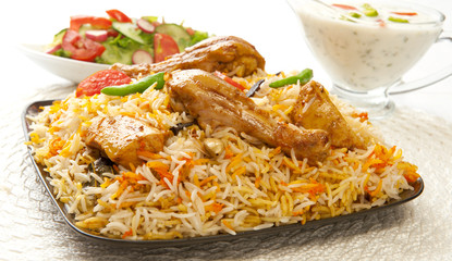 Chicken Biryani, A most delicious food in Pakistan and India