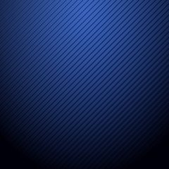 Vector Abstract Dark Blue Background With Stripe Pattern