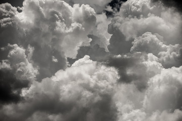 abstract storm clouds background texture