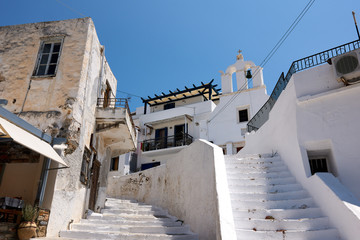 Naxos town stairs