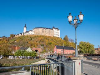 Greizer Schloss im Herbst