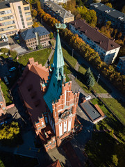 Aerial: Philharmonic Organ Hall in Kaliningrad